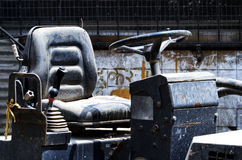 усадите рулевое колесо Стоковые Фото