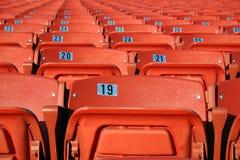 усаживает стадион Стоковая Фотография