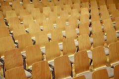усаживает театр деревянный Стоковые Фото