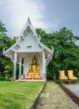 усаживание Будды Стоковое Изображение RF