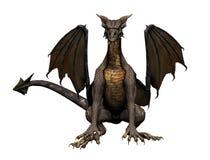 усаживание дракона Стоковое Фото