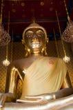 усаживание изображения Будды Стоковое Изображение