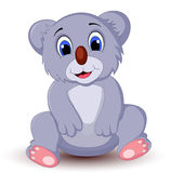 Усаживание коалы шаржа Стоковая Фотография