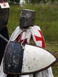 Усаживание крестоносца Стоковое Фото