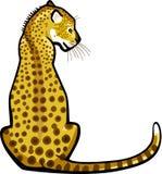 Усаживание леопарда бесплатная иллюстрация