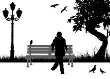 усаживание людей Стоковая Фотография RF