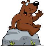 усаживание медведя бесплатная иллюстрация