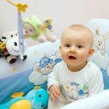 усаживание младенца Стоковая Фотография RF