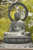 усаживание сада Будды японское Стоковое фото RF