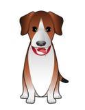 Усаживание терьера собаки Стоковое Фото