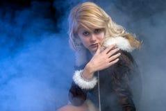 усаживание princess льда сексуальное Стоковое Изображение RF