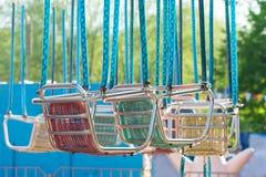 Усадите езду carousel Стоковые Фотографии RF