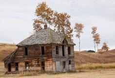 Усадьба верхних гористых местностей Okanogan старая. Стоковые Фотографии RF