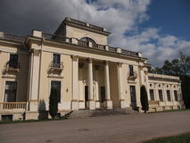 Усадьба поместья Traku Voke (Вильнюса, Литвы) Стоковые Изображения RF