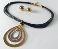 Усики ожерелья Earings Стоковые Изображения RF