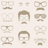 Усики, солнечные очки, eyeglass бесплатная иллюстрация