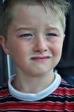 усик молока мальчика Стоковые Фотографии RF