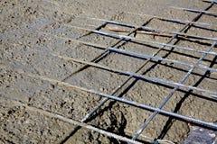 усиленный бетон Стоковые Изображения RF