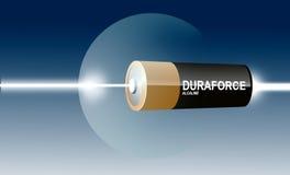 усилие батареи Стоковое Изображение RF