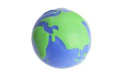 усилие глобуса шарика стоковые фото