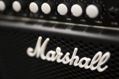 Усилитель Marshall стоковое фото rf