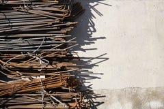 Усиливая сталь стоковая фотография rf