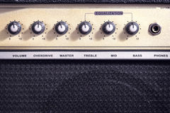 Усилитель гитары Стоковое Фото