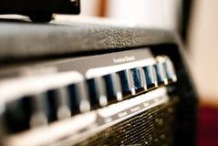 Усилитель электрической гитары стоковая фотография rf