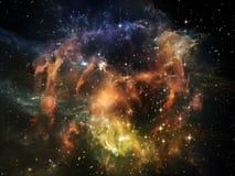 Ускорение вселенной Стоковая Фотография