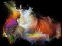 Ускорение движения цвета стоковое изображение rf