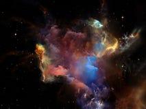 Ускорение космоса иллюстрация штока