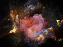 Ускорение космоса Стоковая Фотография