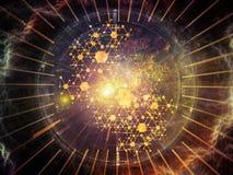 Ускорение физической структуры Стоковые Изображения RF