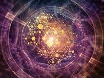 Ускорение физической структуры Стоковые Изображения