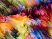 Ускорение цвета фрактали Стоковые Фотографии RF