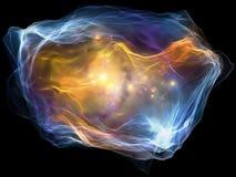 Ускорение частицы разума Стоковые Фотографии RF