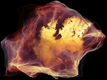 Ускорение частицы разума Стоковое Изображение