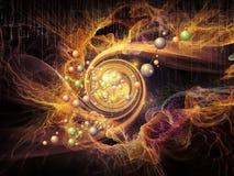 Ускорение частиц Стоковая Фотография