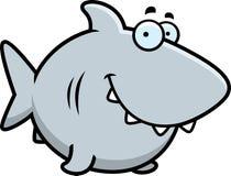 Усмехаться акулы шаржа Стоковая Фотография