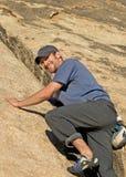 усмехаться альпиниста Стоковые Изображения