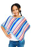 усмехаться американской девушки латинский Стоковая Фотография RF