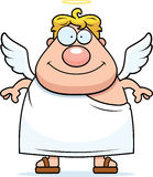 усмехаться ангела иллюстрация вектора
