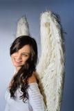 усмехаться ангела Стоковое Изображение