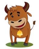 усмехаться быка бесплатная иллюстрация