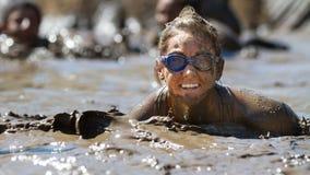 Усмехаться в грязи Стоковое Фото