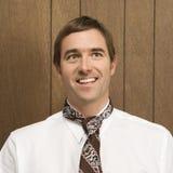 усмехаться галстука человека Стоковые Фото