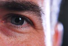 усмехаться глаза Стоковое фото RF
