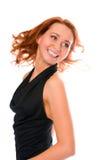 усмехаться девушки красотки redheaded стоковое изображение