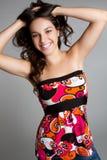 усмехаться девушки предназначенный для подростков Стоковые Изображения RF