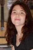 усмехаться девушки предназначенный для подростков Стоковая Фотография RF